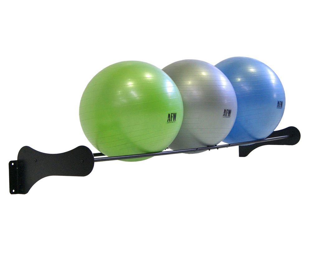 Rack Gymball De Pared Oss Fitness