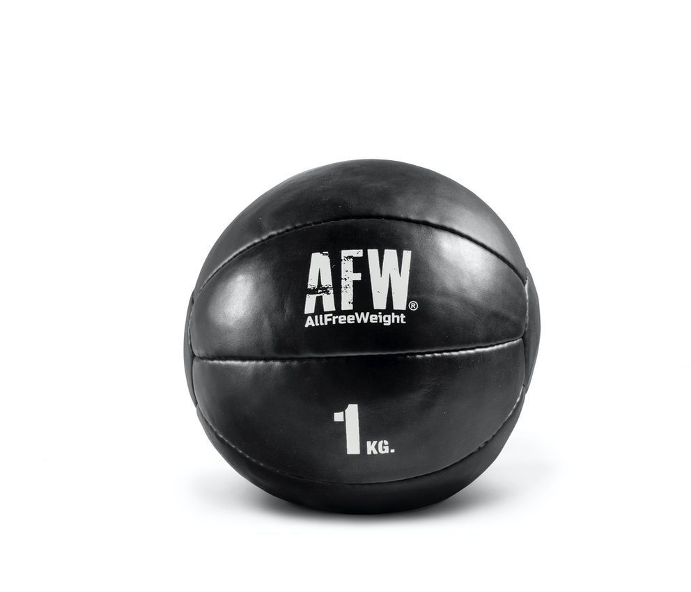 10521.25 - AFW Wall ball mini black individuales 1kg