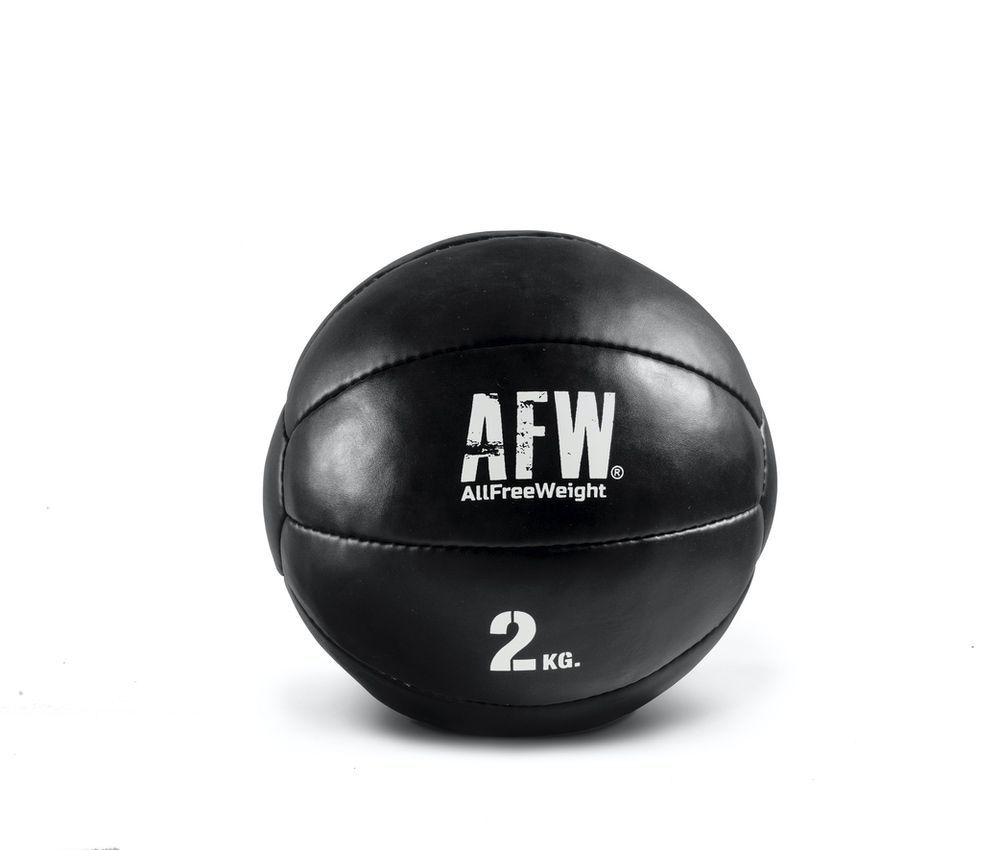 10521.25 - AFW Wall ball mini black individuales 2kg