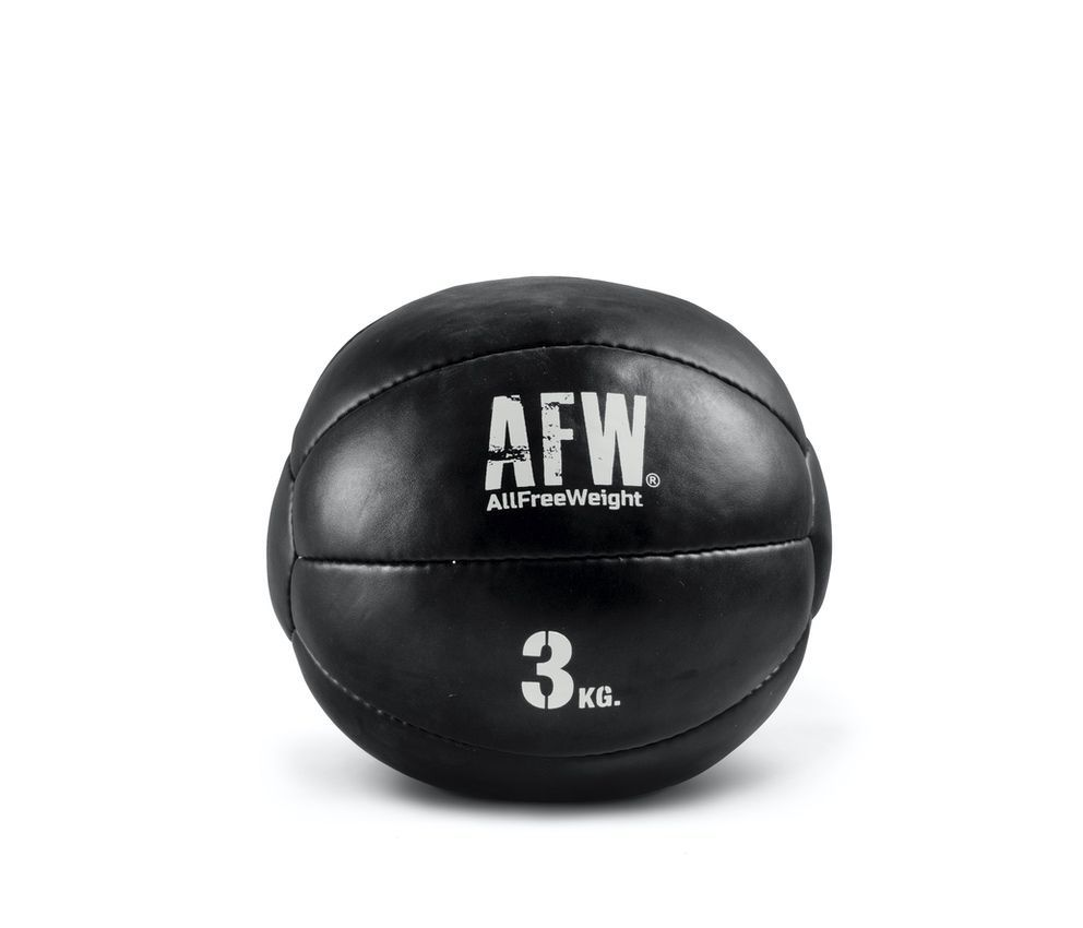 10521.25 - AFW Wall ball mini black individuales 3kg