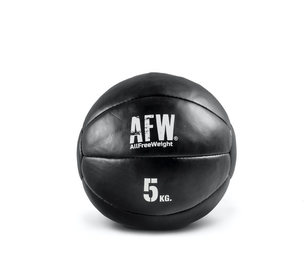 10521.25 - AFW Wall ball mini black individuales 5kg