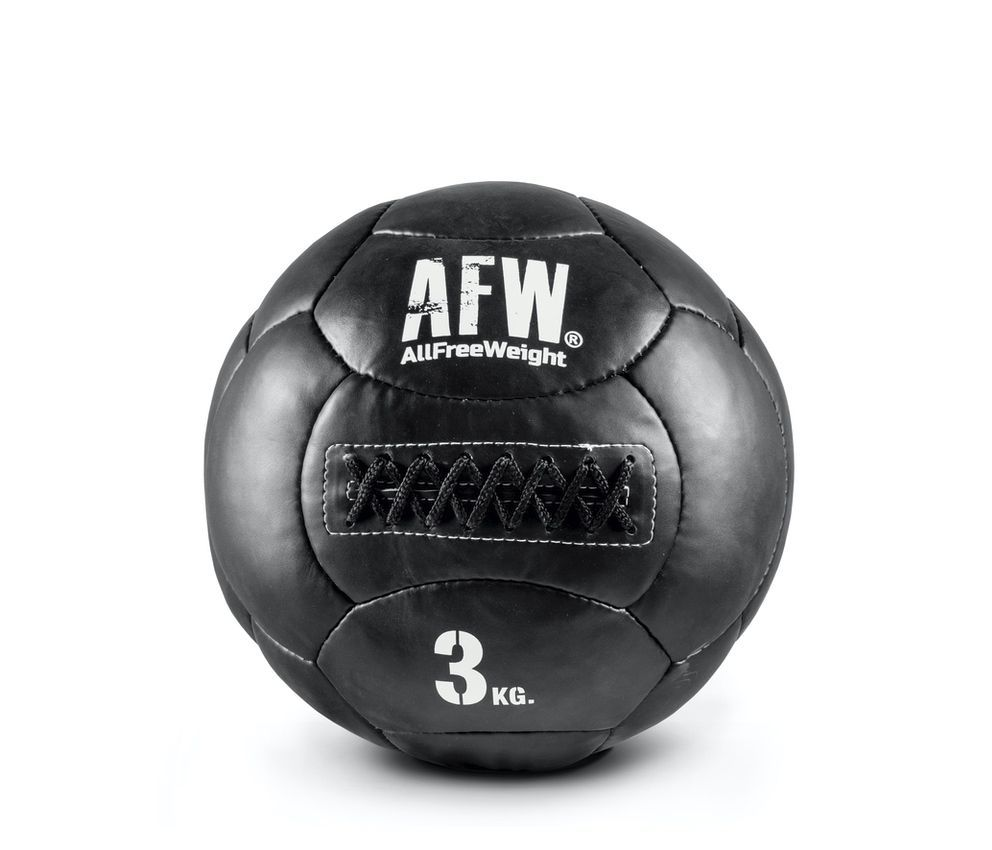 10533.39 - AFW Wall Ball black individuales - 3kg