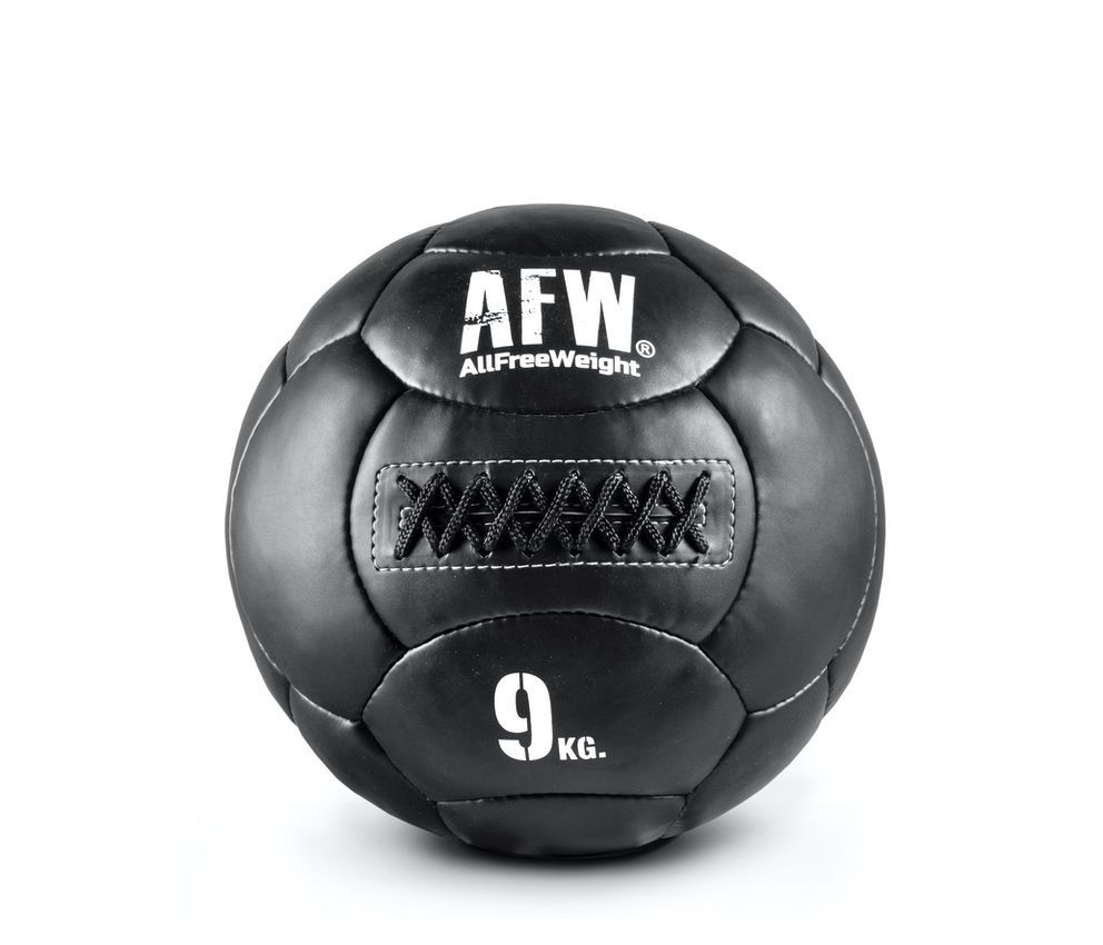 10533.39 - AFW Wall Ball black individuales - 9kg